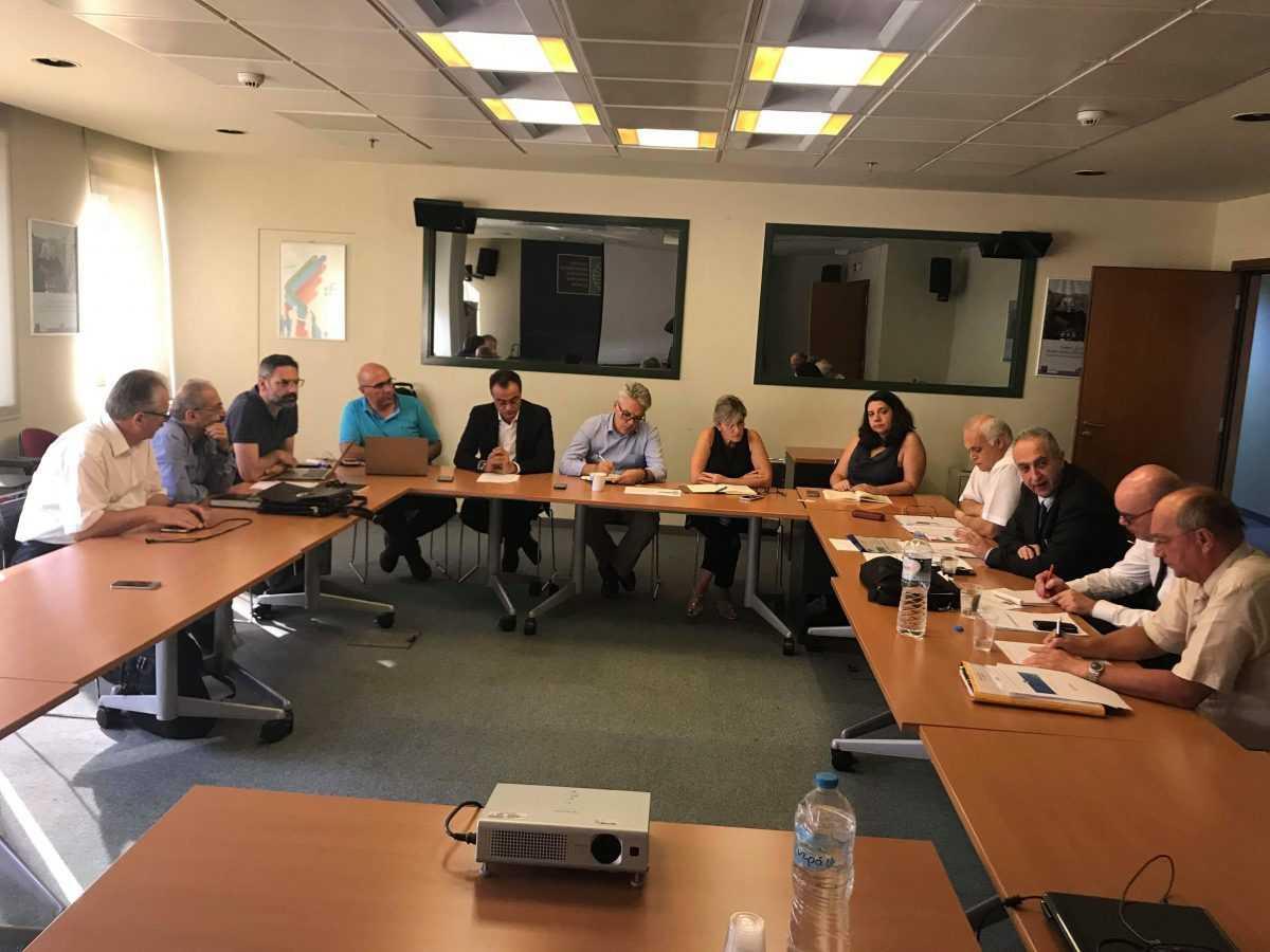 Συνάντηση για το Coal Platform - Πλατφόρμα μετάβασης των Ανθρακοφόρων Περιοχών στο Υπουργείο ΠΕΝ