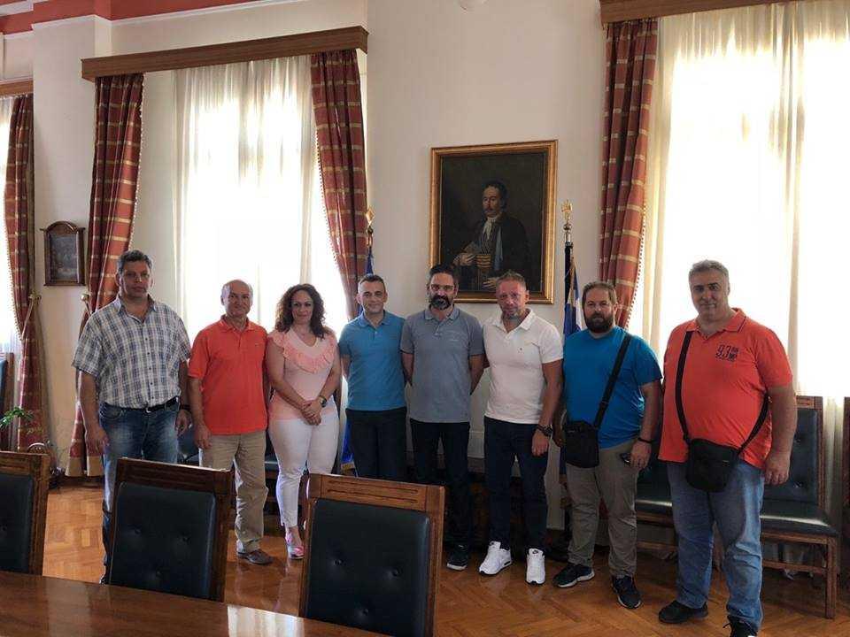 Συνάντηση της Ένωσης Αστυνομικών Υπαλλήλων Κοζάνης με τον δήμαρχο Κοζάνης Λ. Ιωαννίδη στα πλαίσια εθιμοτυπικών συναντήσεων