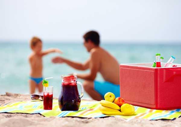 Τα ιδανικά σνακ για την παραλία