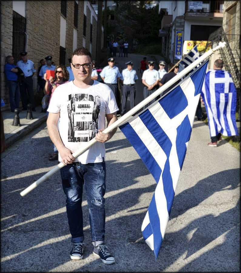 2η Διαμαρτυρία για την Μακεδονία στην βουλευτή Καστοριάς κ. Τελιγιορίδου