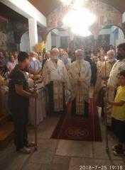 Πολύς λαός στην ιερή πανήγυρη της Αγίας Παρασκευής Μοσχοχωρίουn - Ενορίας Πλατανορέματος