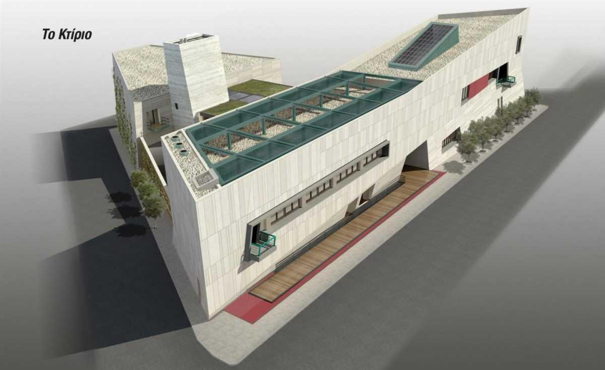 Εγκαίνια του νέου κτιρίου της Κοβενταρείου Δημοτικής Βιβλιοθήκης Κοζάνης από τον Πρόεδρο της Δημοκρατίας Προκόπη Παυλόπουλο