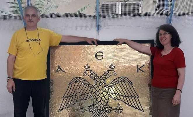 Έκθεση Αγιογραφίας - Ψηφιδωτού του Γιάννη και Όλγας Παπαδοπούλου στη Θεσσαλονίκη