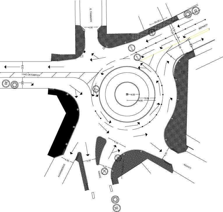 Κυκλοφοριακές αλλαγές στον κόμβο του Κρόκου, από την ΚΥΡΙΑΚΗ 09/09/2018 θα ισχύσουν οι νέες κυκλοφοριακές ρυθμίσεις