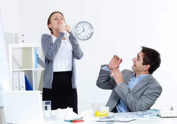 Πώς να προστατευτείτε απο τις ιώσεις στο χώρο εργασίας