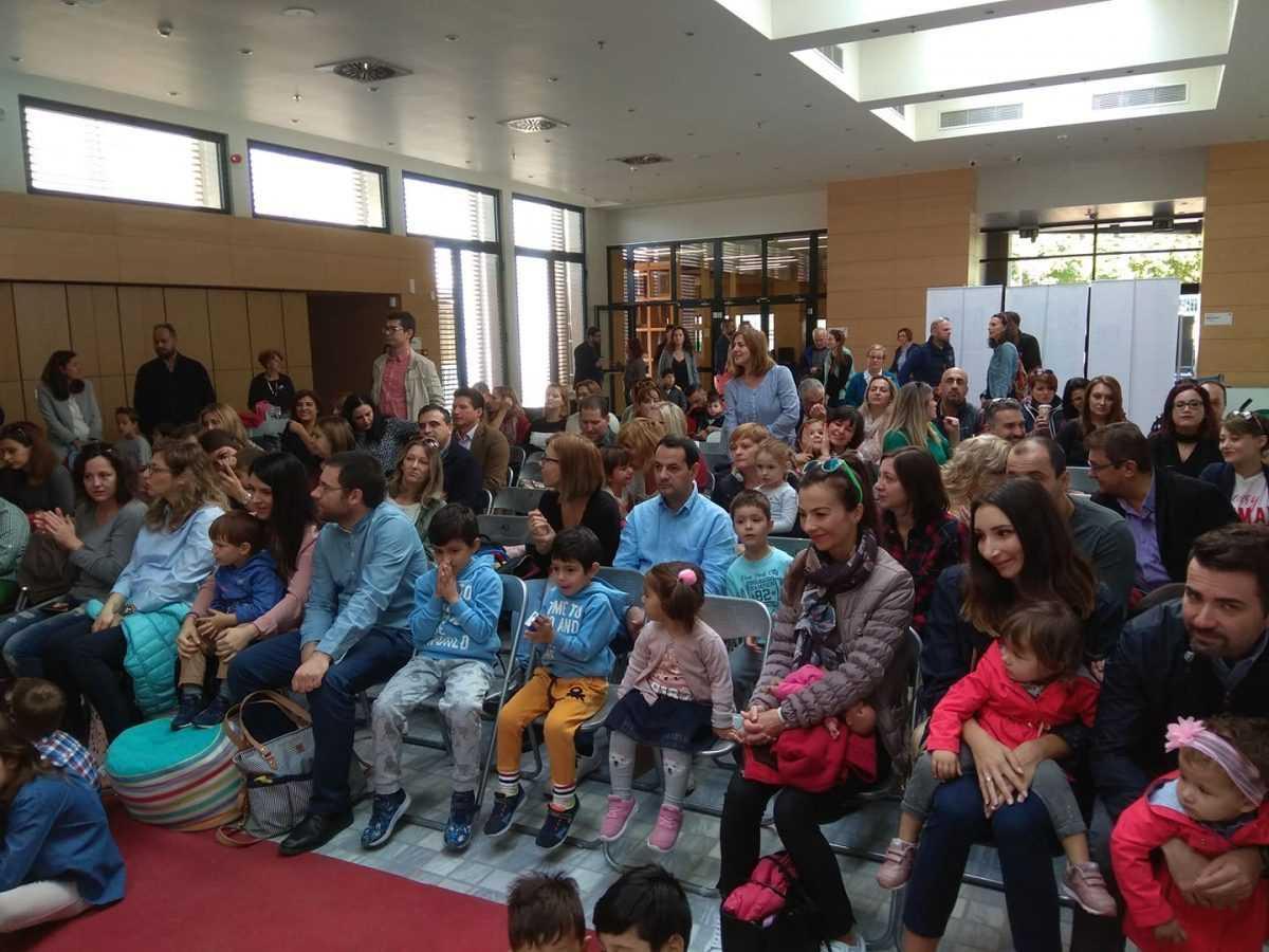 Πλημμύρισε από κόσμο το νέο κτίριο της Βιβλιοθήκης για την πιο 'Παραμυθένια Κυριακή'