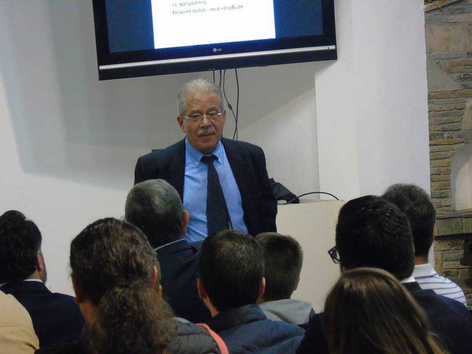 Ιδιαίτερα επιτυχημένη η εκδήλωση  για την παρουσίαση του βιβλίου του Δ. Μπουραντά
