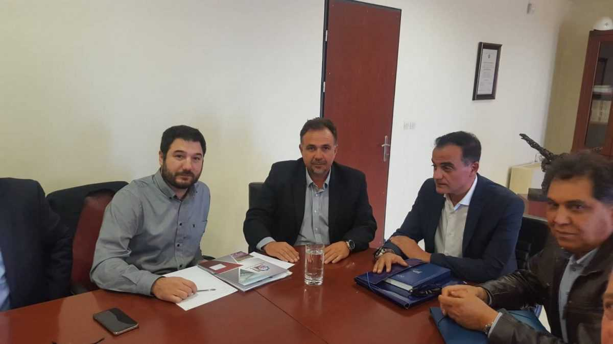 Παρέμβαση του Προέδρου του Επιμελητηρίου Κοζάνης στον Υφυπουργό Εργασίας, Κοινωνικής Ασφάλισης και Αλληλεγγύης κ. Ηλιόπουλο για θέματα Απασχόλησης και Ανεργίας στην Περιοχή.