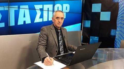 Ο ομοσπονδιακός προπονητής ποδοσφαίρου  Εθνικής Ελλάδας γυναικών σήμερα στην εκπομπή
