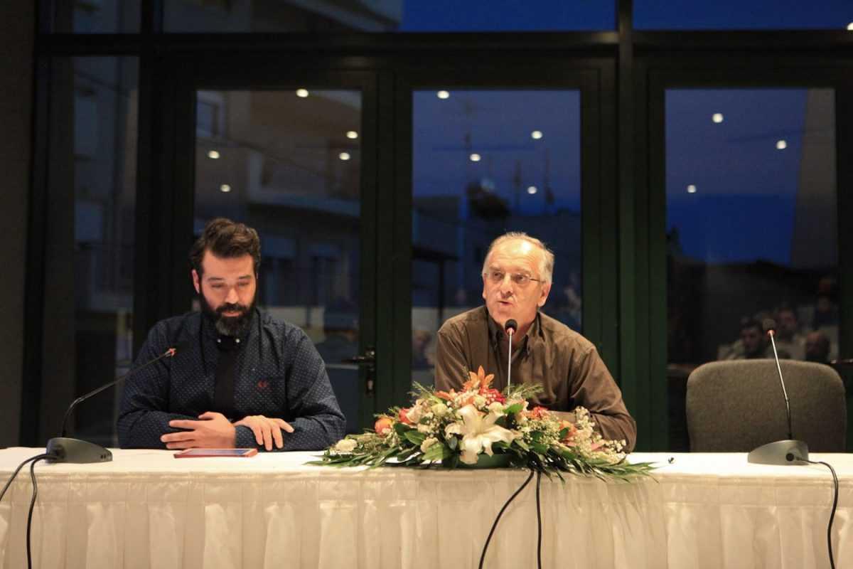Με την παρουσίαση του αδημοσίευτου έργου 'ΑΝΗΦΟΡΟΣ' του Νίκου Καζαντζάκη συνεχίστηκαν οι εκδηλώσεις για τα εγκαίνια της Κοβενταρείου Δημοτικής Βιβλιοθήκης Κοζάνης