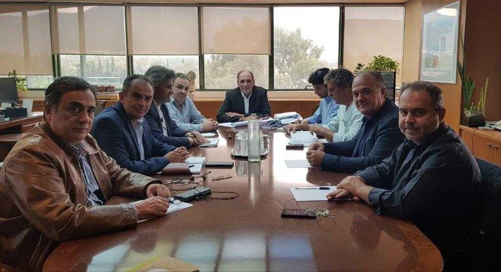 Με υψηλόβαθμα στελέχη Κυβέρνησης και ΔΕΗ συναντήθηκε ο ΣΠΑΡΤΑΚΟΣ. Τέθηκαν σοβαρότατα ζητήματα που αφορούν την επιχείρηση και τους εργαζόμενους