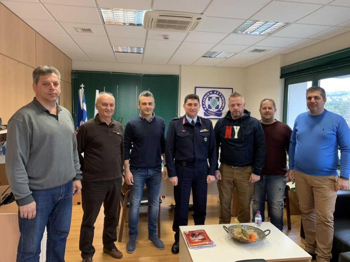Εθιμοτυπικές επισκέψεις πραγματοποιήθηκαν στο νέο Γενικό Περιφερειακό Αστυνομικό Διευθυντή Δυτικής Μακεδονίας
