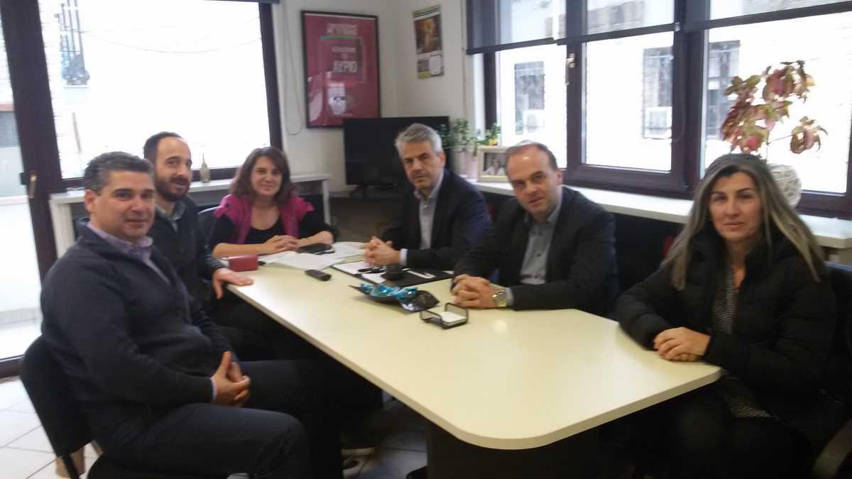 Συνάντηση ΓΕΩΤ.Ε.Ε./Π.Δ.Μ.: με Υφυπουργό Α.Α.&Τ. κ. Ολ. Τελιγιορίδου