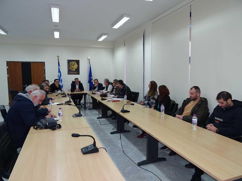 Τα προβλήματα που αντιμετωπίζουν οι κάτοικοι των χωριών Αγίου Δημητρίου και Ρυακίου ήταν το αντικείμενο ευρείας σύσκεψης