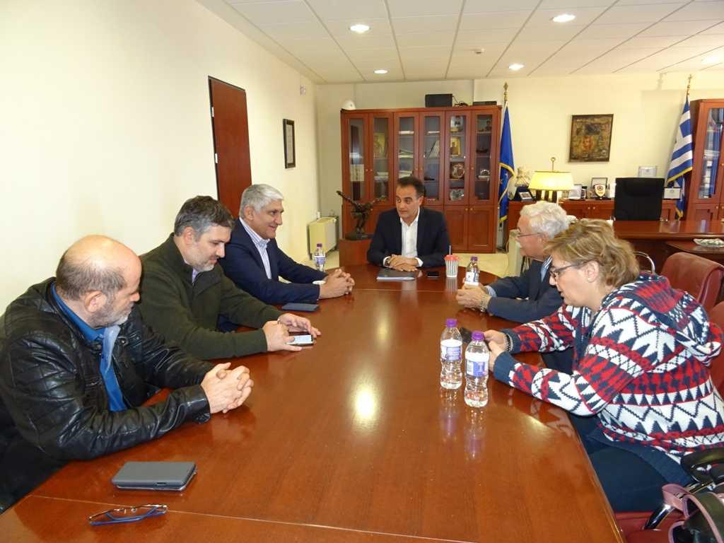 Ο Παναγιώτης Γιαννάκης στην Περιφέρεια Δυτικής Μακεδονίας  Συνάντηση με τον Θ. Καρυπίδη