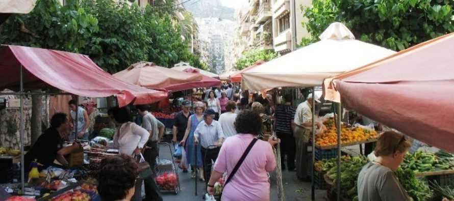 Λαϊκή αγορά Αριστοτέλους: Επιπλέον μέτρα αποφυγής συγχρωτισμού για την εξυπηρέτηση των καταναλωτών του βιομηχανικού τομέα