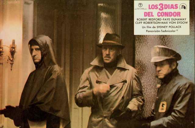 Σινεμά Δευτέρα βράδυ  «Τρεις Μέρες του Κόνδορα». Με μια ονομαστή κατασκοπική περιπέτεια με έντονο πολιτικό μήνυμα συνεχίζει τις χειμερινές κινηματογραφικές του προβολές ο Φιλοπρόοδος Σύλλογος Κοζάνης