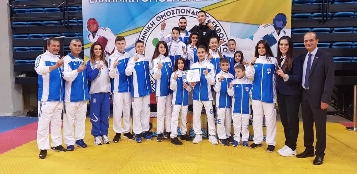 Πρώτος σύλλογος στην γενική κατάταξη για το 2018 στο πανελλήνιο πρωτάθλημα του Ολυμπιακού αγωνίσματος taekwondo στις κατηγορίες παίδων/κορασίδων η ΜΑΚΕΔΟΝΙΚΗ ΔΥΝΑΜΗ Κοζάνης