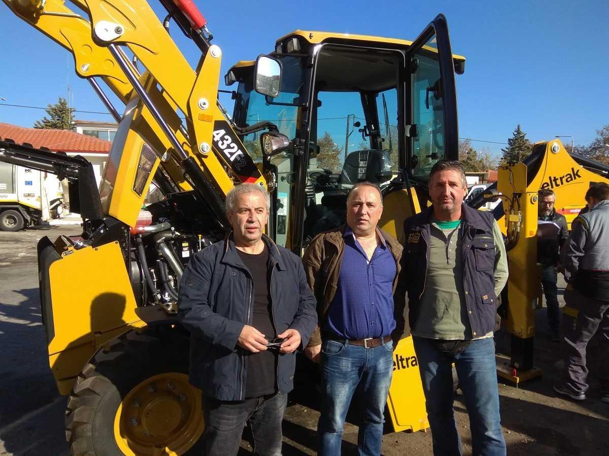 Εκσυγχρονισμός του στόλου μηχανημάτων έργου του Δήμου Κοζάνης με στόχο τη βελτίωση των παρεχόμενων υπηρεσιών στους δημότες