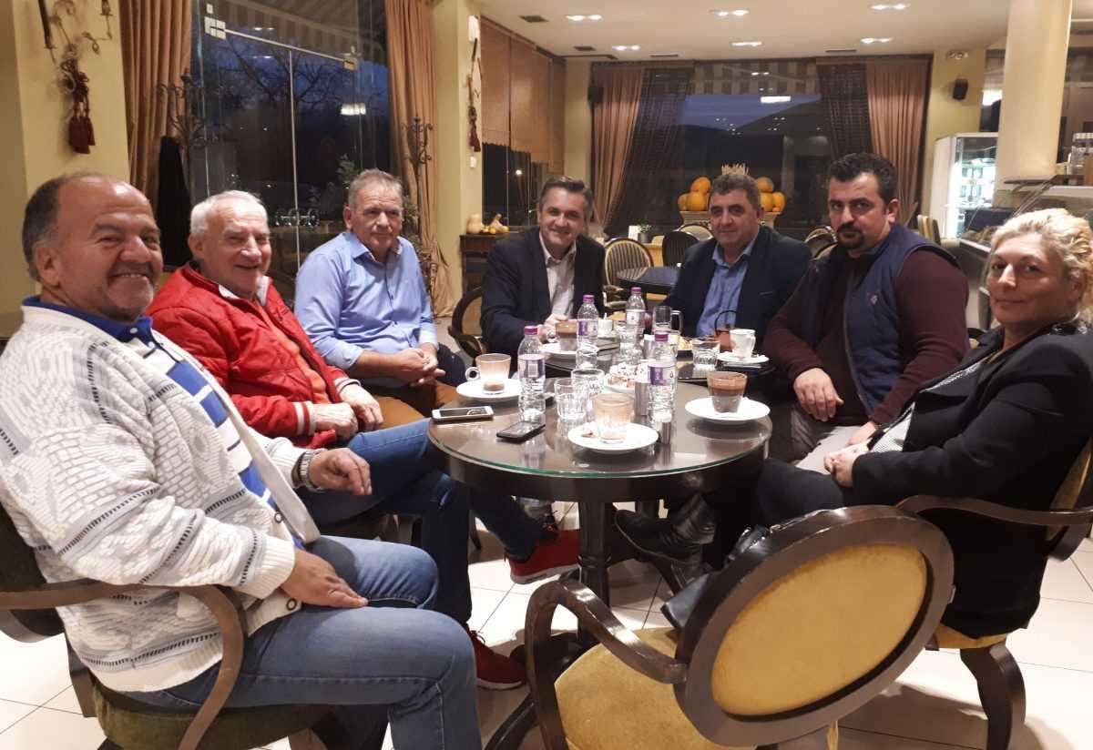 Συνάντηση Γιώργου Κασαπίδη με την Πανελλήνια Ένωση Κτηνοτρόφων