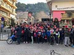 Τα Σέρβια γέμισαν Αγιοβασίληδες. Μεγάλη επιτυχία για το 1ο SANTA RUN SERVIA 2018
