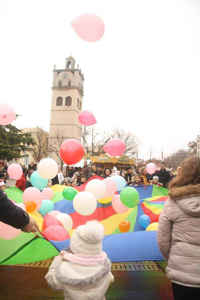 «Χριστούγεννα στη πλατεία των παιδιών»- Σάββατο, Κυριακή και παραμονή Χιστουγέννων στην κεντρική πλατεία της Κοζάνης