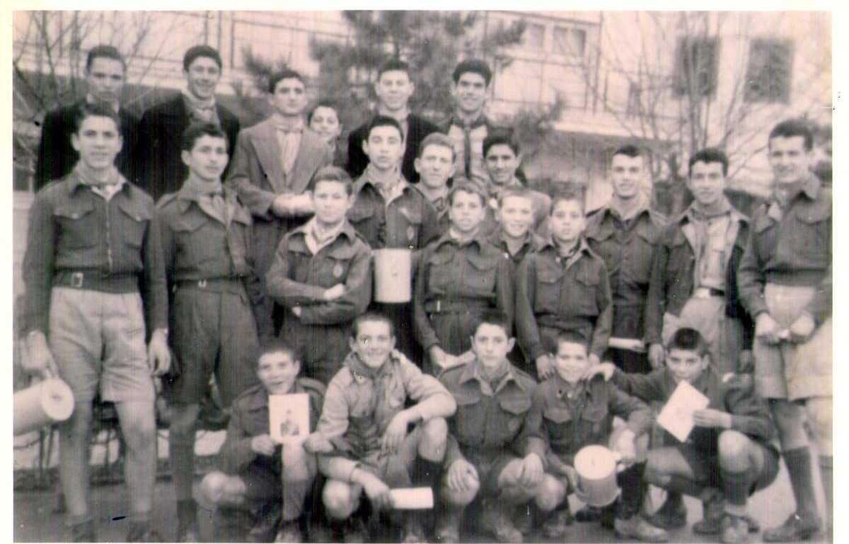 ΠΑΡΑΜΟΝΗ ΝΕΟΥ ΕΤΟΥΣ 1951 ΠΡΟΣΚΟΠΟΙ ΨΑΛΛΟΥΝ ΤΑ ΚΑΛΑΝΤΑ στην Κοζάνη