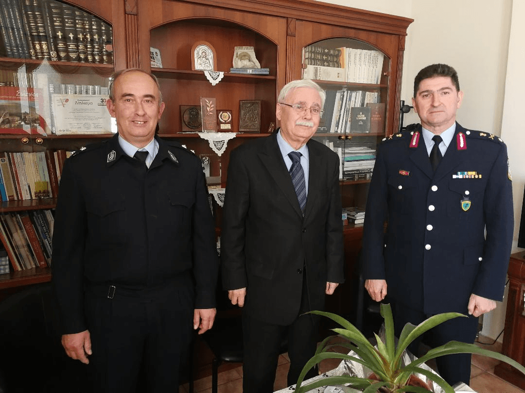 Συνάντηση του νέου Περιφερειακού Αστυνομικού Διευθυντή Δυτικής Μακεδονίας με τον Δήμαρχο Βοΐου Δημήτρη Λαμπρόπουλο