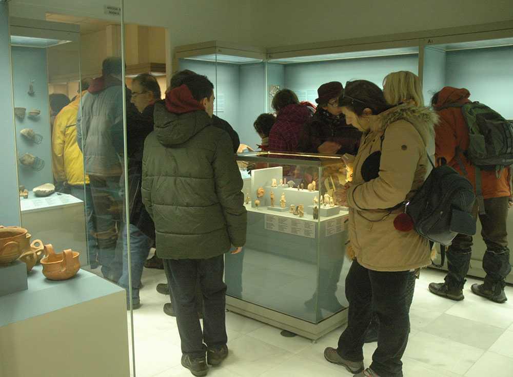 Καλωσορίζει τους πρώτους τολμηρούς επισκέπτες του 2019 η Εφορεία Αρχαιοτήτων Κοζάνης