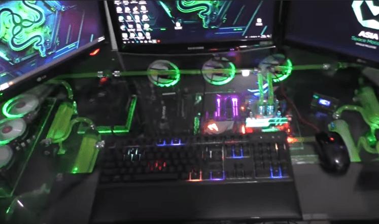 Δείτε το σύγχρονο γραφείο υπολογιστή που κατασκεύασε ο Νίκος Σιδηρόπουλος από την Κοζάνη!!(VIDEO)