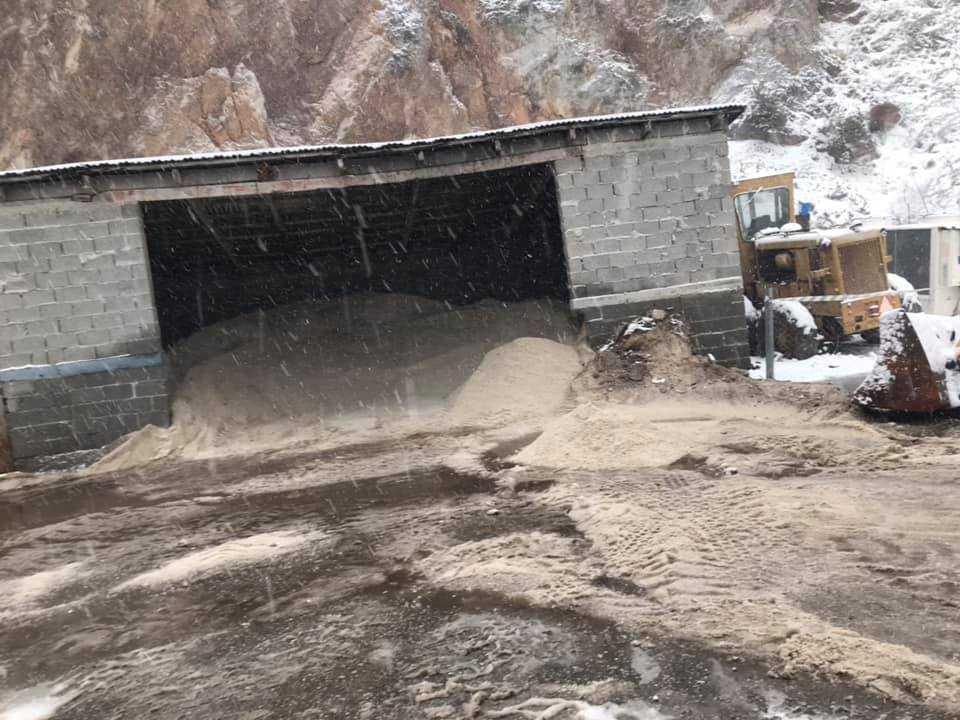 Ο Δήμος Κοζάνης διαθέτει αλάτι προς τους πολίτες, για τις ανάγκες που αποχιονισμού