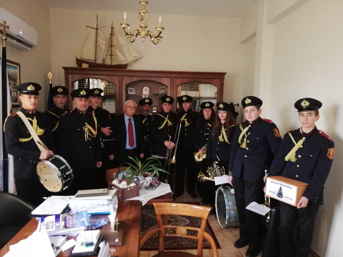 Πρωτοχρονιάτικα Κάλαντα στον Δήμαρχο Βοΐου , Δημήτρη Λαμπρόπουλο
