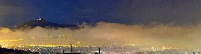 Στα ύψη η αιθαλομίχλη στην Κοζάνη. Αιτία η καύση βιομάζας και άλλων υλικών στα τζάκια
