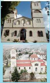 Ιερό Προσκύνημα από τον  Ιερό Ναό Αγίου Δημητρίου (χωριό Άγιος Δημήτριος Ελλησπόντου Κοζάνης)   στην Κύπρο