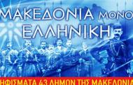 Συμφωνία των Πρεσπών: 43 δήμοι της Μακεδονίας λένε «ΟΧΙ». Εκτός ο δήμος Κοζάνης και Σερβίων Βελβεντού από την Περιφέρεια Δυτικής Μακεδονίας