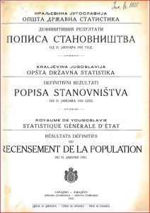 Ολόκληρη η απογραφή του 1921 στην Γιουγκοσλαβία – Δεν βρέθηκε ούτε ένας «Μακεδόνας». (χωρίς θαυμαστικό)