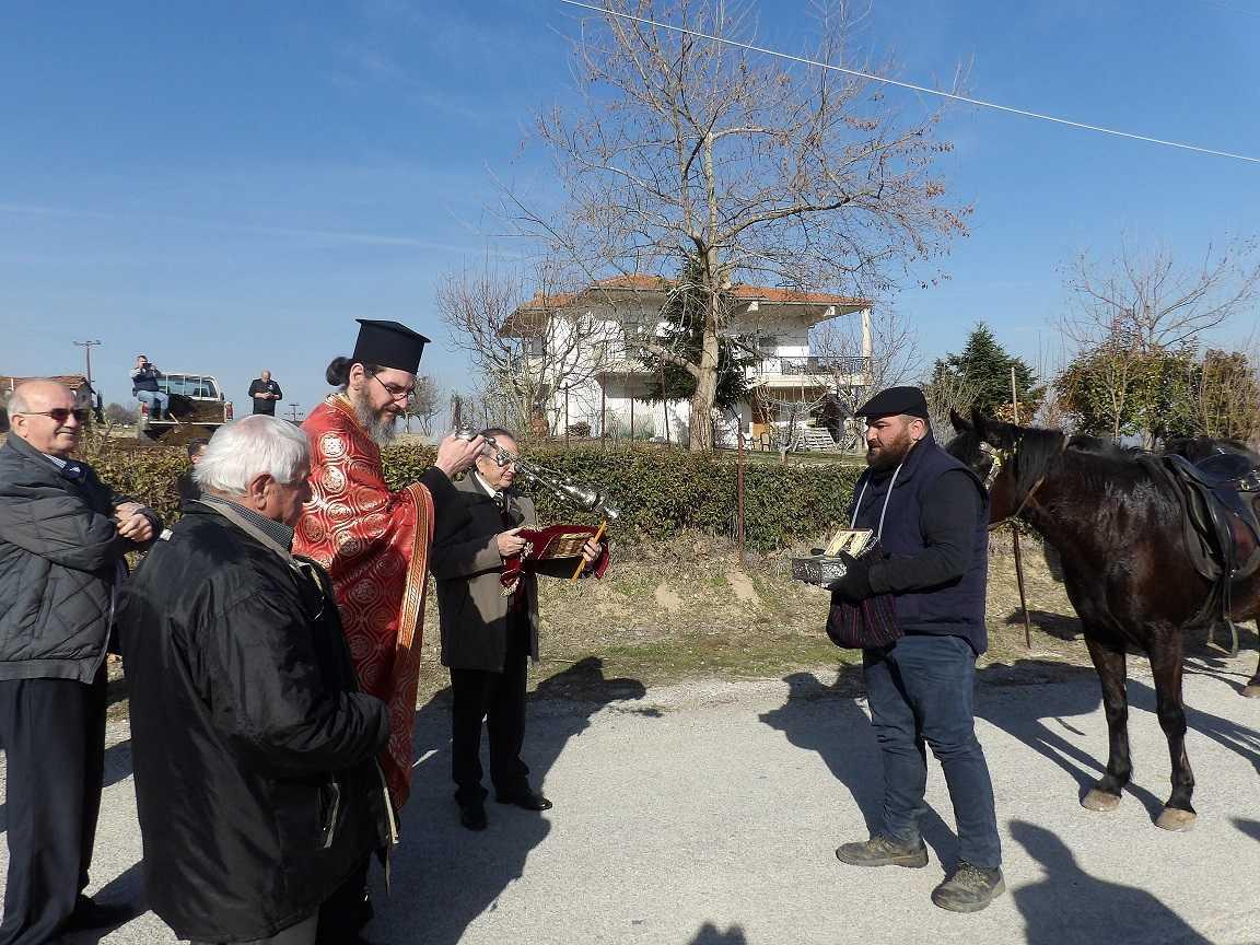 Τα λείψανα του Αγίου Νικάνορος υποδέχθηκε, η τοπική Κοινότητα Κερασιάς (Φωτογραφίες)