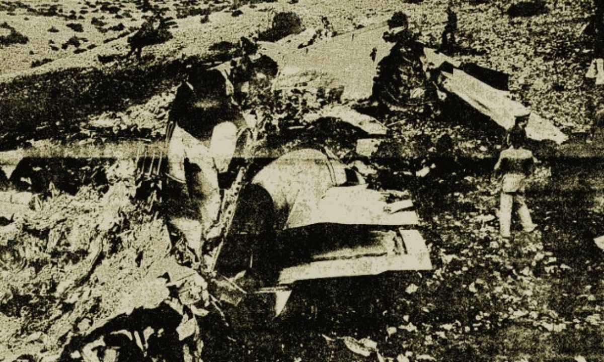 Σαν σήμερα το 1976 συνέβη το τραγικό αεροπορικό δυστύχημα στα υψώματα του Μεταξά Κοζάνης.  Το πλέον πολύνεκρο δυστύχημα που