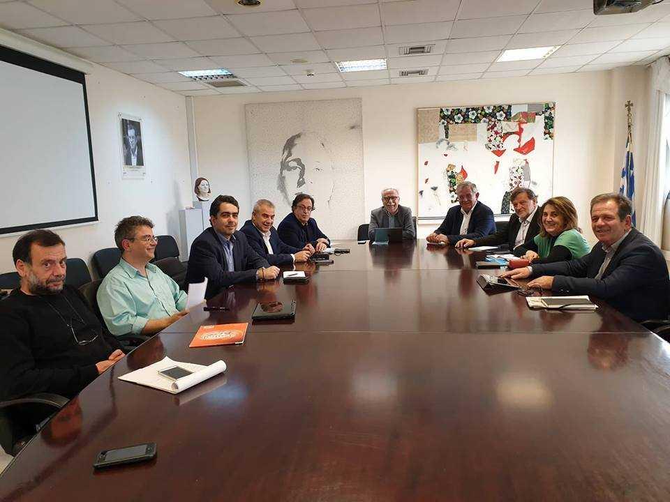 Συνάντηση των Βουλευτών της Δυτ. Μακεδονίας του ΣΥΡΙΖΑ με τον Υπουργό Παιδείας για τη συγχώνευση του Πανεπιστημίου με το ΤΕΙ Δ. Μακεδονίας