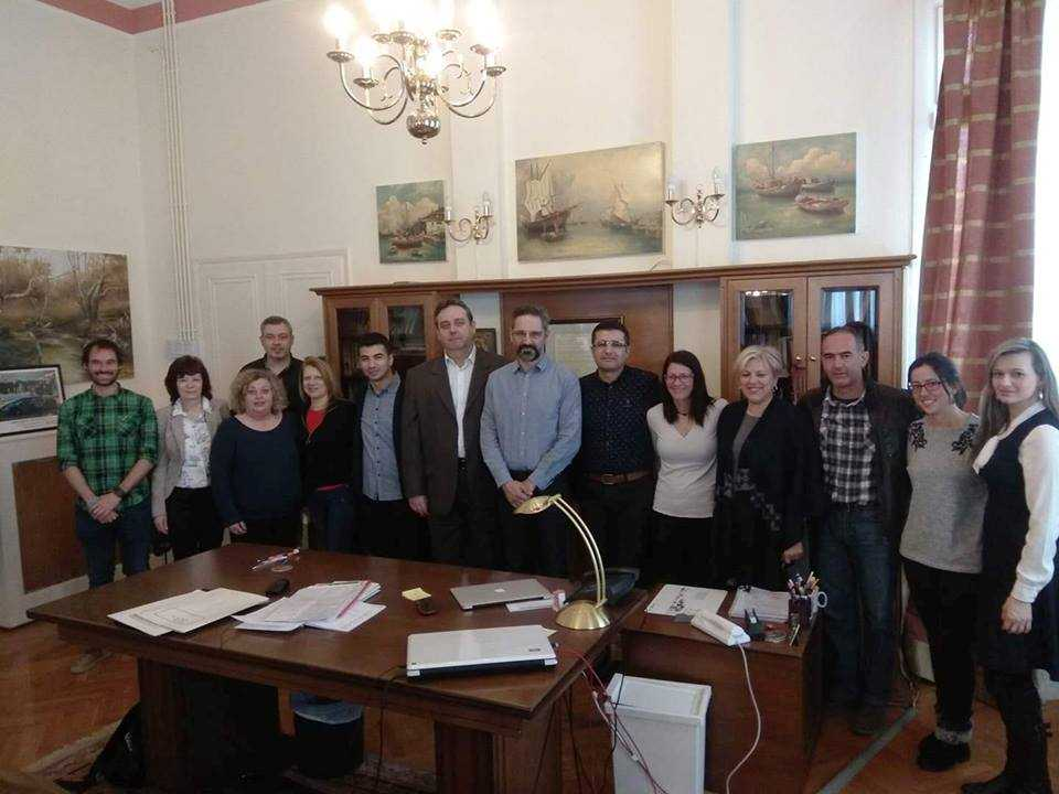 Συνάντηση με καθηγητές σχολείων που συμμετέχουν στο πρόγραμμα