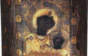 Η Εικόνα της Παναγίας της Πορταΐτισσαςαπό την Ιερα Μονή Ιβήρων στην Κοζάνη την Τρίτη 26 Μαρτίου