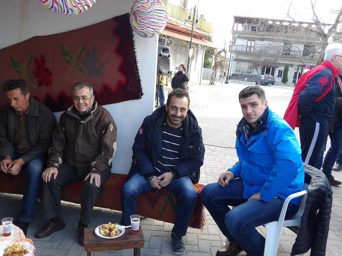 Η γιορτή τραχανόπιτας-τσιγαρίδας στην Κερασιά Κοζάνης