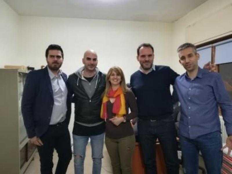 Συνάντηση του υποψηφίου δημάρχου Κοζάνης Π. Αλειφέρη με τους προέδρους των Κοινοτήτων Σκήτης, Ξηρολίμνης και Μεταμόρφωσης