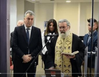 Εγκαίνια του εκλογικού κέντρου του υποψήφιου δημάρχου Κοζάνης Κυριάκου Μιχαηλίδη και παρουσίαση των πρώτων 37 υποψηφίων δημοτικών συμβούλων του συνδυασμού του.  ικανοποιητικός ο κόσμος, αλλά όχι ο αναμενόμενος