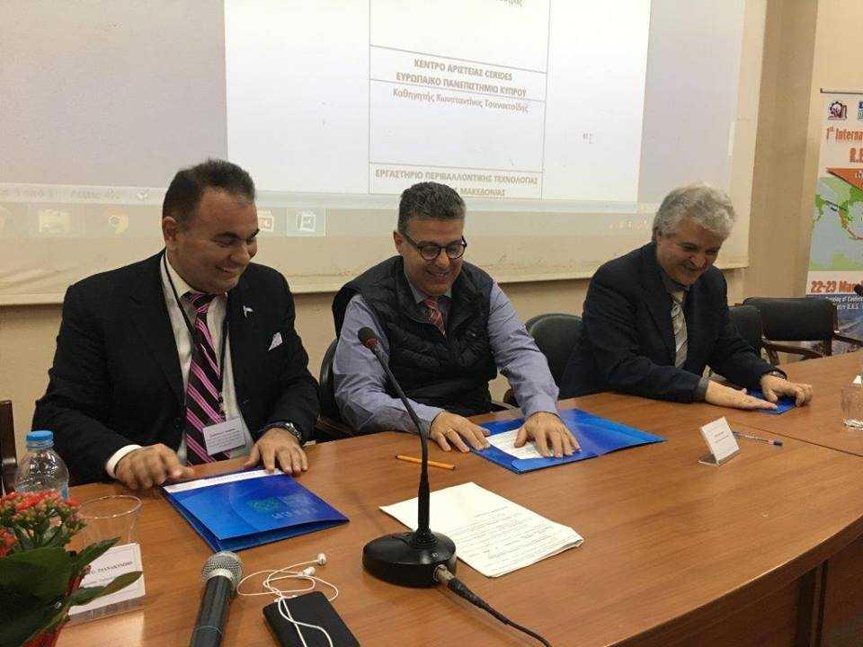 Πρωτοπόρος καινοτόμος και κυρίως χρήσιμη η πραγματοποίηση του συνεδρίου, ιδέα, πρωτίστως του Κώστα Τσανακτσίδη. Μετά το καθ' όλα επιτυχημένο συνέδριο «Cyprus-Greece-Israel: Research and Exploitation of Hydrocarbons» στην Κοζάνη, αποφασίστηκε η πραγματοποίηση 2ου συνεδρίου στην Κύπρο με 530 εγγραφές συνέδρων