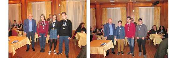 Μεγάλη επιτυχία στην εκδήλωση κοπής της πίτας, των σκακιστικών συλλόγων στην Πτολεμαΐδα.Ασφυκτικά γεμάτη η αίθουσα στις Βραβεύσεις των αθλητών