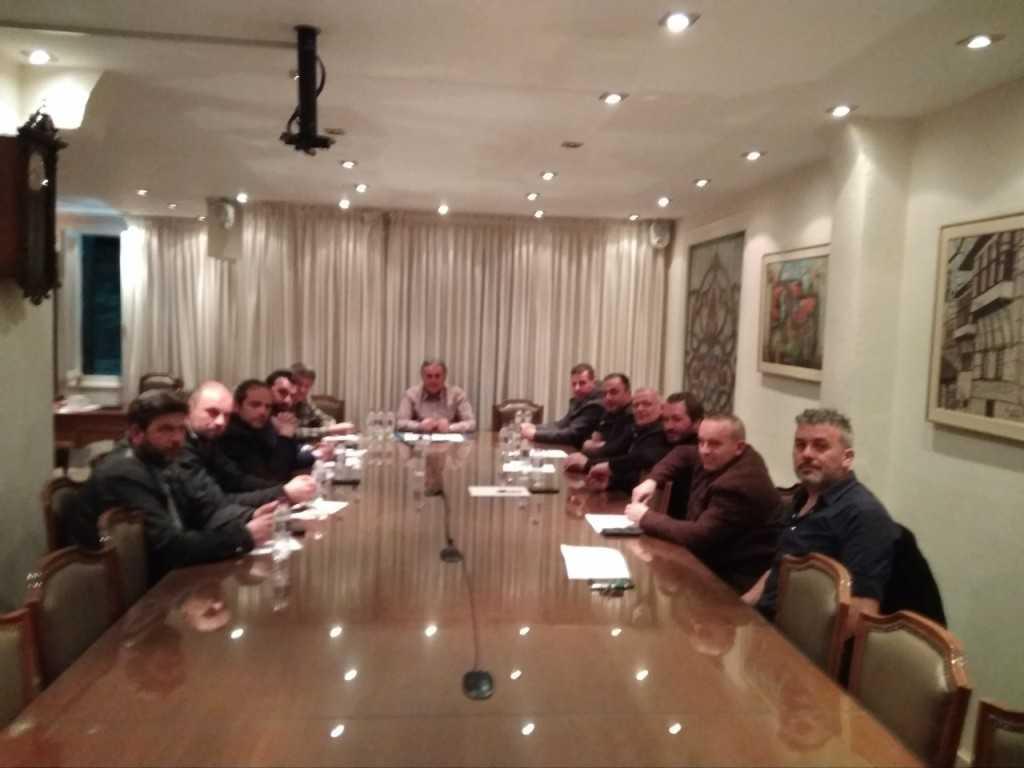 Σύσκεψη σωματείων του επισκευαστικού κλάδου στο Επιμελητήριο Κοζάνης
