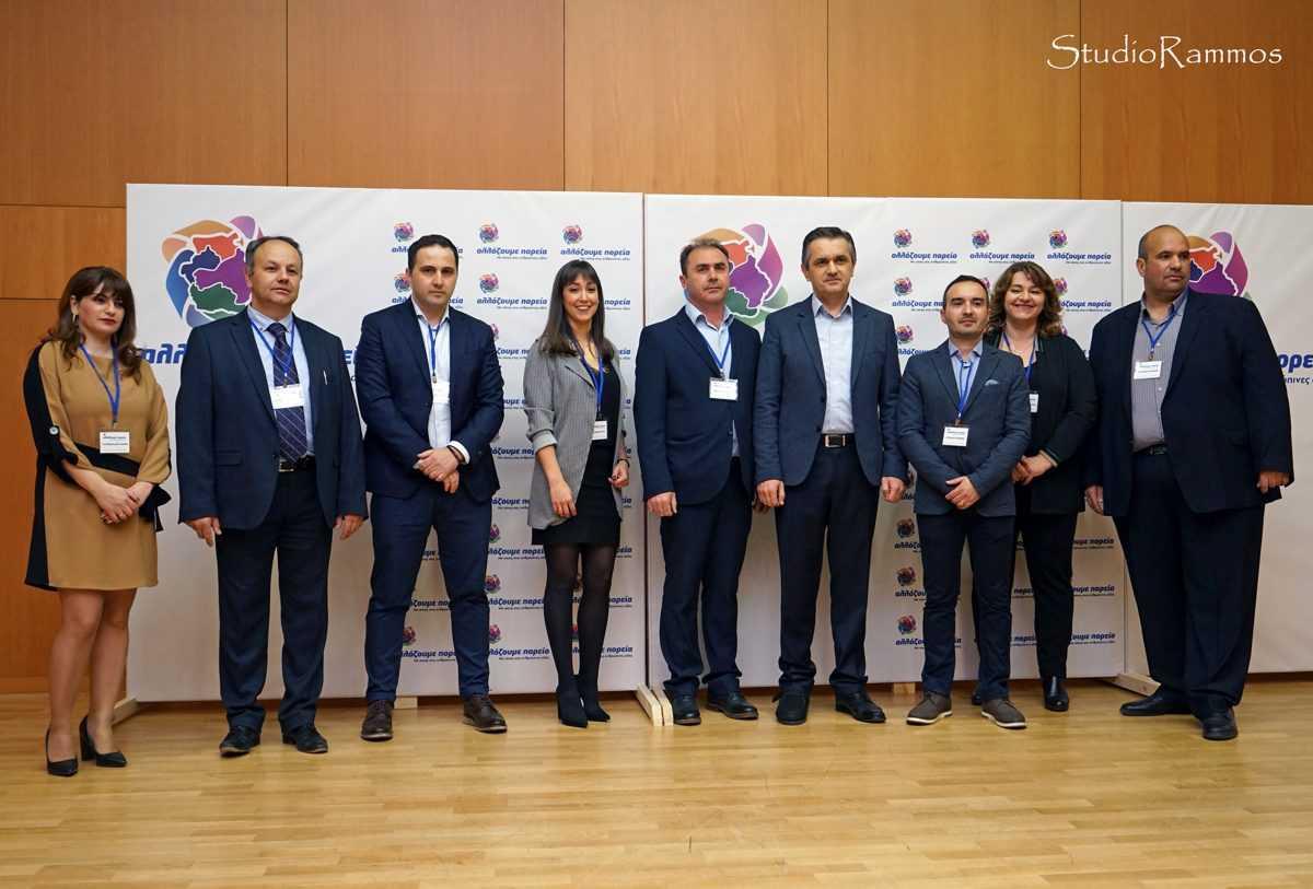"""Τους υποψηφίους συμβούλους του συνδυασμού """"αλλάζουμε πορεία"""" ανακοίνωσε, χθες, σε εκδήλωση στα Γρεβενά, ο υποψήφιος περιφερειάρχης Δυτικής Μακεδονίας Γιώργος Κασαπίδης."""