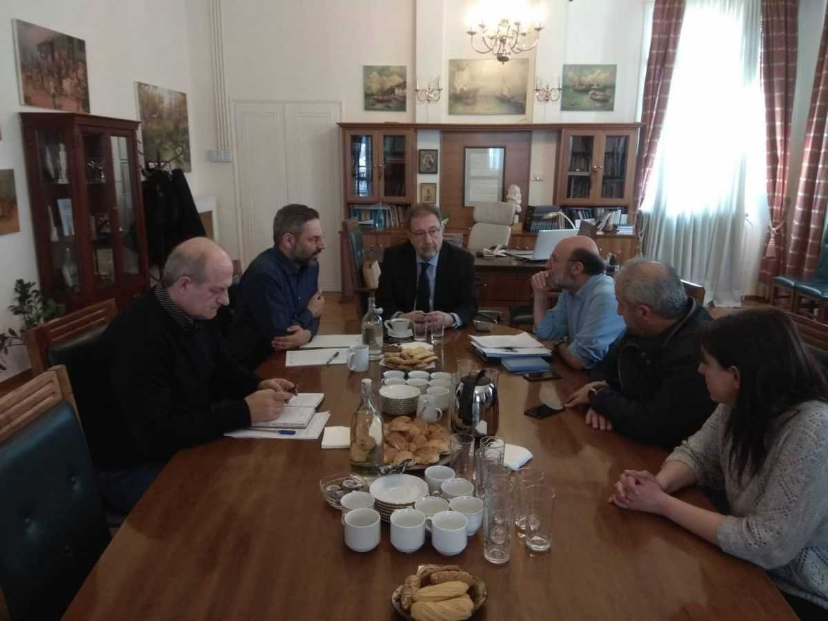 Προχωρά το θέμα της αξιοποίησης του Ξενία καθώς αναφέρθηκε στην συνάντηση του αναπληρωτή υπουργού Οικονομίας Στέργιου Πιτσιόρλα και του δήμαρχου Κοζάνης Λευτέρη Ιωαννίδη