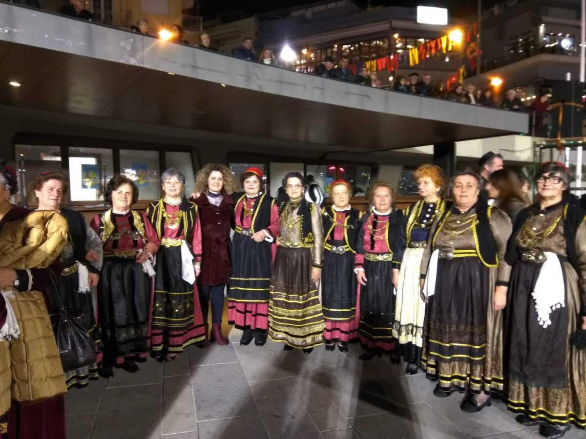 Στο πρόγραμμα της Κοζανίτικης Αποκριάς συμμετείχαν τα μέλη του ΚΑΠΗ Σιάτιστας.